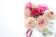 Pink Roses bouque for wedding