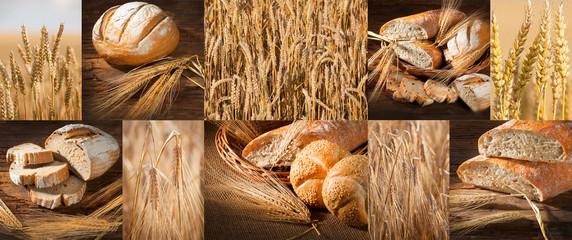 fresh crackling bread