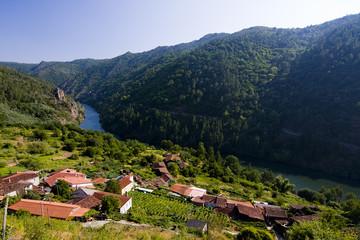 rio sil, galicia