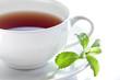 Tee gesüßt mit Stevia