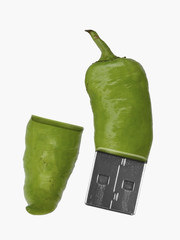 Pen Drive in form of a Chili