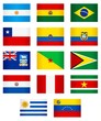 Flags_South America