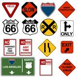 Traffic Signage Set poster