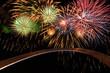 Fireworks In Saint Louis