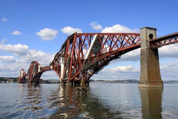 Forth rail bridge in Queensferry, Scotland