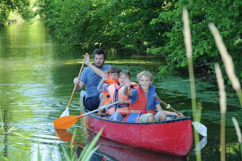 Ausflug auf dem Wasser