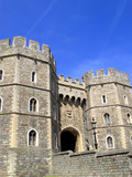 Windsor Castle Henry VIII Gateway poster