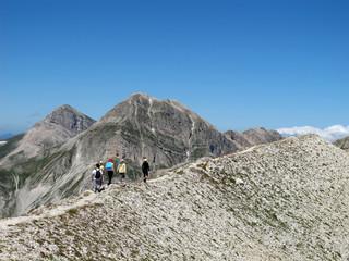 Walking on the Mountain (Abruzzo, Monte Aquila)
