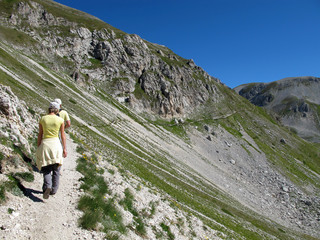 Walking in Abruzzo (Sella Monte Aquila)