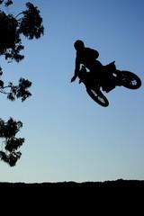 Motorcross Jump Action