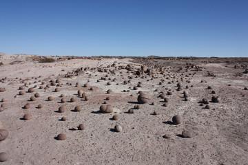 Campo de bochas en Valle de la Luna