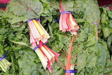 Swiss Chard Rainbow Bundles