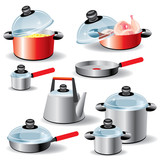 Fototapety kitchen utensils