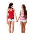 Two lesbian women