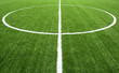 lines on soccer field green grass