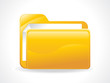 abstract glosy folder icon