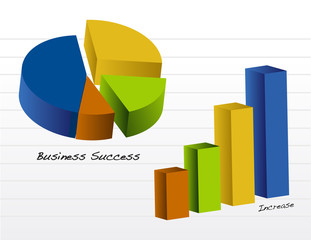 Pie and Business graph