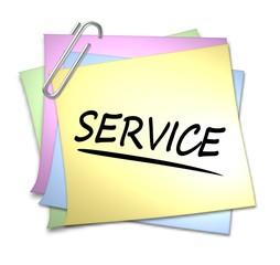 haftnotiz service
