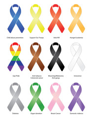 Ribbons / eps / vector