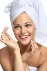 Good skin after bathing