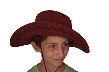 Çocuk genç kids kovboy şapka cowboy hat