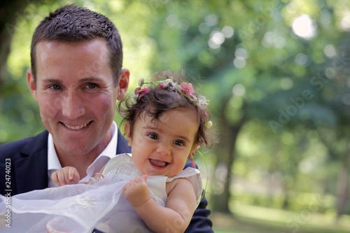 Vater und Tochter