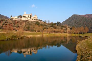 Castle of Antognolla, Perugia -Italy