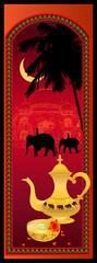 Indian tea vector