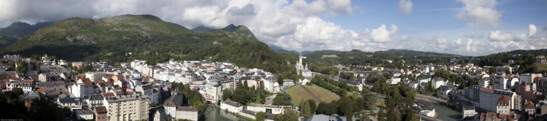 Lourdes - Panorama dal Castello