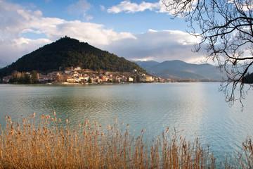 View of Lago di Piediluco, Umbria - Italy