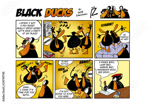 Black Ducks Comic Strip episode 47