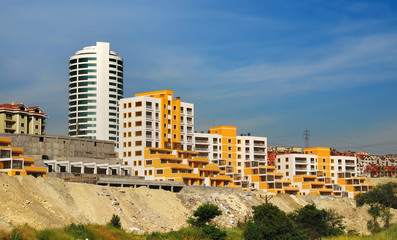 Istanbul modern district, European side