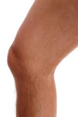Rechtes Knie vom Mann