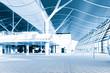 Leinwanddruck Bild - modern  architectural