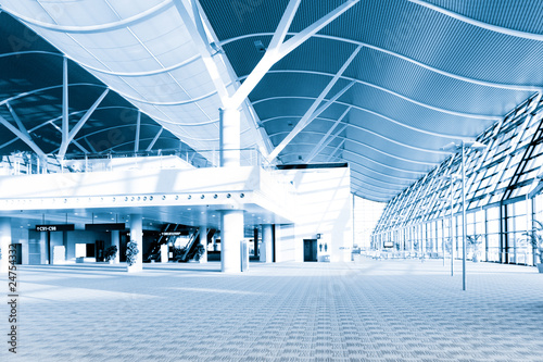 Leinwanddruck Bild modern  architectural
