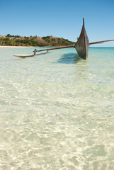 trasparenze all'isola di sakatia in madagascar