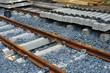 Bahnschwellen, Gleisbau