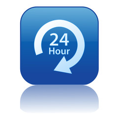 24 HOUR Web Button (service 7 days opening hours duty customer)