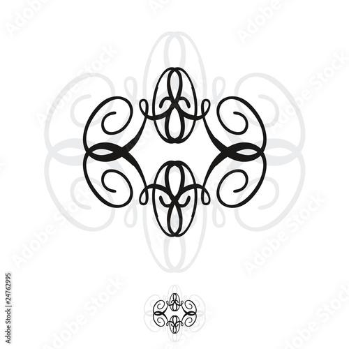 Motif tapisserie arabesque fichier vectoriel libre de - Motif tapisserie ...