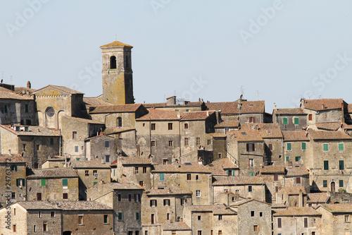 medieval town, Sorano, Tuscany