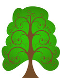 The openwork tree. poster