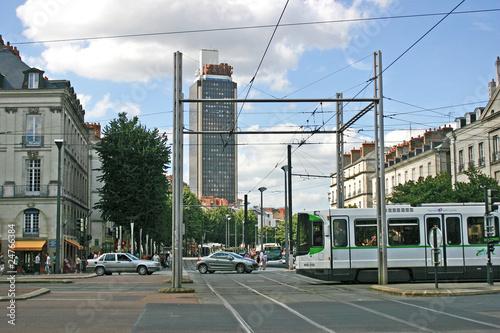 Leinwandbild Motiv Nantes