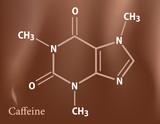 Caffeine formula poster