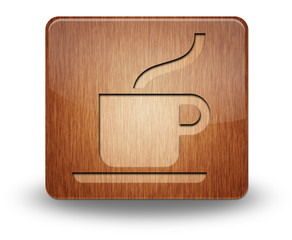 "Wooden Icon ""Cafeteria / Hot Beverage"""