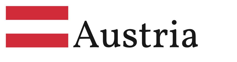 """Banner / Flag """"Austria"""""""