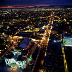 Noche,Ciudad de México