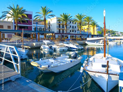 Leinwandbild Motiv Puerto Andratx, Mallorca