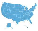 United States Vector Map