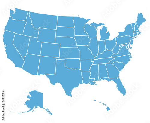 United States Vector Map - 24782136