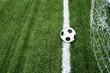 soccer ball on line